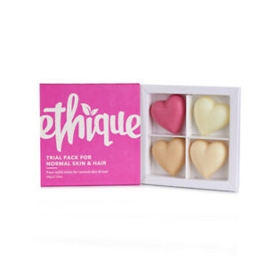 Ethique Plastic Free Trial Pack for Normal Skin and Hair Types