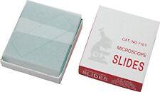 50PC Blank Microscope Slides Cover Ground Glass Biological Specimen Slice 76.2cm