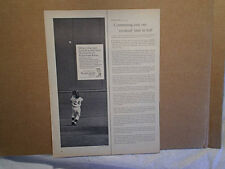 1966 WILLIE MAYS 1954 WORLD SERIES CATCH,supp-hose,AD PRINT ONLY,new york giants