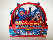 Spiderman Pack Away Drum 25cm Musical Instruments Play Set