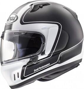 ARAI RENEGADE - V OUTLINE BLACK MOTORCYCLE HELMET - LARGE