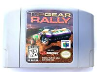 Top Gear Rally - Nintendo 64 N64 Game Tested + Working & Authentic!