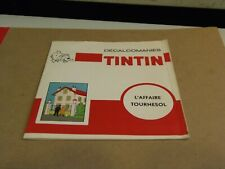 2 Pages of TINTIN French Decals Ephemera 8/1