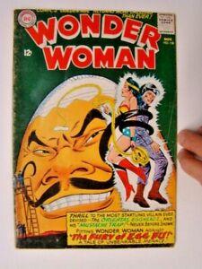 1965 Wonder Woman #158 Oriental Egghead Cover Art DC Comics VG