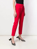 MSGM stretchy red trousers professional pants, IT40/AU8-10/S,A$600,NEW BNWT