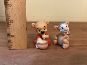 disney figurines porcelain Winnie The Pooh And Tigger Babies