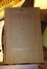 Antique/Vintage 1931 The Bible An American Translation 1st Edition 1st Printing