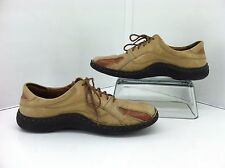 Josef Seibel Tan Lace Up Sneakers. Size 39   US 8 to 8.5
