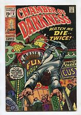 """Chamber Of Darkness #6 - """"Watch Me Die..Twice!"""" - 1970 - (Grade 5.0)"""
