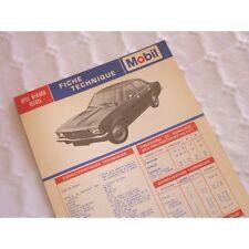 Fiche technique Lancia Delta II 2.0 HF 9cv