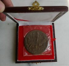 Shanghai Mint:1990 China Medal the God of Longevity copper,rare version!