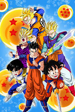 Dragon Ball Z/Super Poster Gohan Evolution12in x 18in Free Shipping