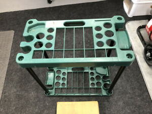 Stalwart Compact Garden Fits Over 30 Tools Storage Rack
