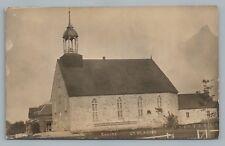 Saint-Placide Quebec RPPC Eglise—Church PHOTO Rare Antique CPA Laurentides 1910