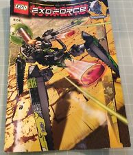 LEGO Exo-Force Shadow Crawler 8104, rare retired, all bricks instructions, manga