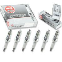 6 pc Champion Iridium Spark Plugs for 2004-2006 Volkswagen Touareg Pre cb