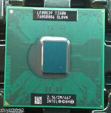 Intel Core Duo T2600 SL8VN 2.1GHz 2M 667MHz Socket M Mobile CPU Processor Test