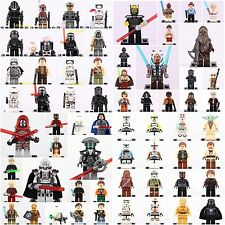 64 pcs Star Wars collectable all character Super heroes minifigures Fit to Lego