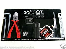 ERNIE BALL MUSICIAN'S TOOL KIT *All-In-One Care System In Carry Case* NEW!