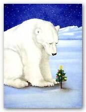 WILDLIFE ART PRINT Polar Prayer Will Bullas