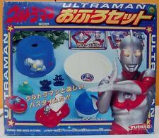 ULTRAMAN BATHSET FULL SIZE SET FOR KIDS & TODDLERS KAIJU KAWAII YUTAKA 1995