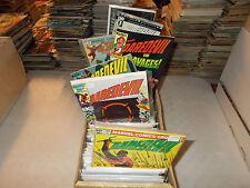 Lot of 50 DIFFERENT ALL Daredevil Titles Comic Book Elektra Bullseye Grab Bag