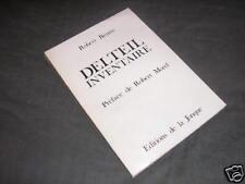 Bibliographie de l'oeuvre de Delteil par Briatte