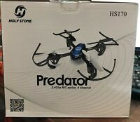 Holy Stone HS170 Predator Mini RC Helicopter Drone 2.4Ghz 6 Axis Gyro 4 Channels