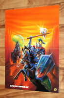 Might and Magic V Darkside of Xeen Vintage Poster MS-DOS Mac FM Town NEC PC-9801