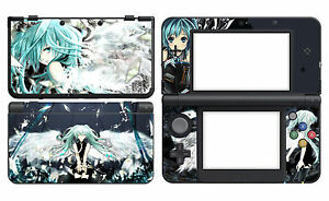 Miku 231 Vinyl Decal Skin Sticker Cover for Nintendo New 3DS 2015