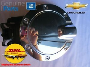 OEM 17802429 Chevy COLORADO GMC CANYON 2004-2012 FUEL GAS TANK DOOR CHROME CAP C