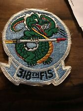 USAF Patches 318TH FIS Fighter Interceptor Squadron
