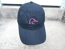Ducks Unlimited Women's Black  and Pink Baseball Cap Hat New wo Tags