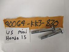 NOS Honda VF750 GL1500 Bolts (8X56) 90064-KK3-830 Set Of 2