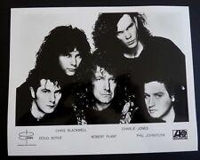 Robert Plant & Band of Led Zeppelin Rare Promo 8x10 Photo Atlantic #1