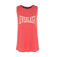 Everlast Racer Back Tank Active wear Sport 12 14 16 18  Swing Style Coral Marle