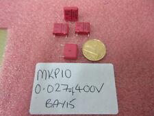 MKP10 0.027uF 27nF 400v Wima condensador de polipropileno 5 por venta.