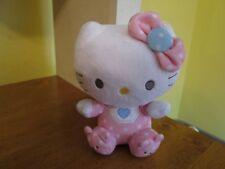 "TY HELLO KITTY RATTLE 6"" BEANIE BABIES"