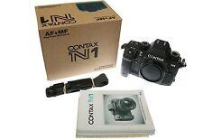 3 CONTAX bodies - N1 Body AF/MF - NX Body - NX Body  plus 3 Lenses