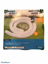Summer Waves Replacement 59 x 1.25 Inch Pool Pump Hose Accessory Kit