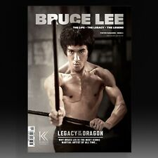BRUCE LEE: THE LIFE, THE LEGACY, THE LEGEND - POSTER MAGAZINE ISSUE 4