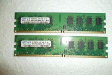 Dell XPS 625 4GB (2x 2GB) DDR2 SDRAM Samsung PC2-6400U 800MHz M378T5663EH3-CF7