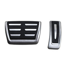 For Audi New Q5 Q7 A4 A5 B9 No Drill Steel Gas Brake Pedal Cover Cap Accessories
