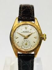 Rolex Bubble Back Lady Ref. 5003 18kt Gold