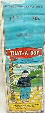 Vintage That A Boy Collectible Fireworks Label Large 3 x 8 1/2 Inch Label