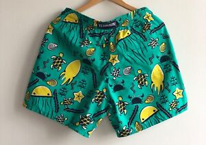 New Vilebrequin Swim Shorts Trunk Turtles Beach Classic Moorea Size Medium