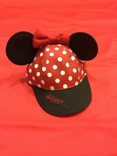 Minnie Mouse Disneyland Girls Hat With Minnie Ears