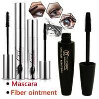 4D Silk Fiber Wimpern Mascara Extension Makeup Schwarz WasserdichtesWimpern Sell