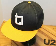 "VERY NICE ""ATTIK"" BLACK & GOLD HAT SNAPBACK ADJUSTABLE IN VERY GOOD CONDITION U2"