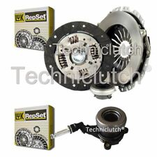 LUK 3 PART CLUTCH KIT AND LUK CSC FOR OPEL CORSA A TR BERLINA 1.5 TD